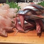 かわなみ鮨 - 秋刀魚、ホウボウ