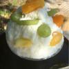 かき氷カフェポニー - 料理写真:2016.11中旬 フルーツ盛りだくさんしろくま(600円)
