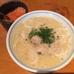 二◯加屋長介 - 鶏スープあつかけうどん