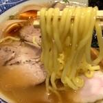 58759111 - 麺は中太ちぢれ麺