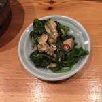 58759246 - 菊菜とあさりの炊いたん