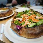 オリジナルパンケーキハウス - シュリンプとスモークサーモンのダッチベイビー