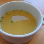 Osteria EST ! - ランチのスープ