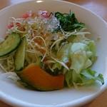 Osteria EST ! - ランチのサラダ
