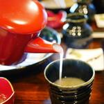 兎京 - ″トローリトロトロ!!″の蕎麦湯