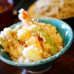 兎京 - ミニ天丼