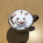 もちもち小麦のスイーツ&カフェ 魔法庵 - 毎日14時以降スタート!3Dラテアート