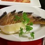 58764361 - 自家製秋刀魚のスモーク♪