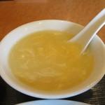景珍楼 - かき玉スープアップ
