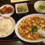 58765792 - 麻婆豆腐セット