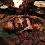 食DINING - 熟成肉盛り合わせ