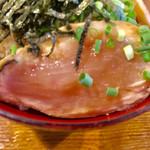 翔鶴 - 鶏タタキ丼アップ【料理】