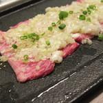肉牛寿司×しゃぶ焼肉2+9 - 極上カルビのネギ塩