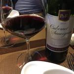 創作鉄板料理 たむら - 赤ワインでまったりー(^-^)v