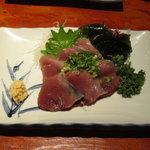 えんざ - えんざの定食「カツオの刺身」