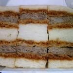 肉の万世 - 万世ハンバーグサンド