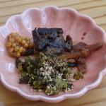 桂茶屋 - お漬物