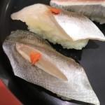 廻転寿司 海鮮 - 【2016.11.4】地魚セットのカマス