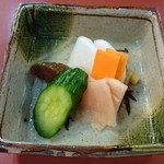 駿河屋 - 奈良漬が美味しい