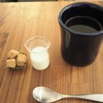 ブラスカフェ - 三軒茶屋にあオブスキュラさんのコーヒー豆使用