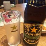 利久 - 瓶ビール