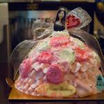 プリンセスケーキ アリス - 2016.9 ドールケーキ
