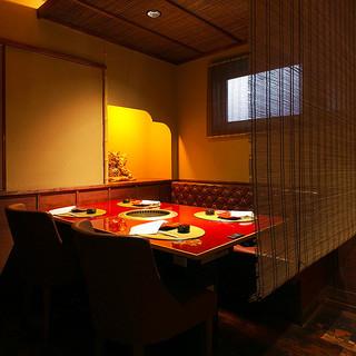 古都京都の町屋を思わせる大人の隠れ家空間でごゆるりと