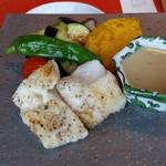 伊万里 櫓庵治 - 白身魚のソテー