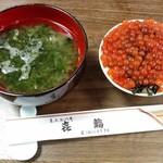 喜鮨 - ミニいくら丼