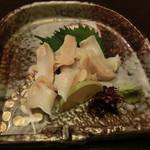 圭蔵 - 白バイ貝刺身