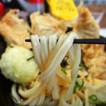 麺くい やまちゃん - 大山どりのとり玉天ぶっかけ(うどん)