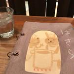 Cafe 婆沙羅 - メヌーがかわいい♡