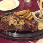 メキシカンハウス・リマレストラン - サーロインステーキ300g1680円