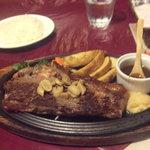 メキシカンハウス・リマレストラン - サーロインステーキ300g1680円①