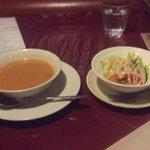メキシカンハウス・リマレストラン - スープ&サラダ