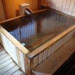 時の雫 - 部屋の露天風呂