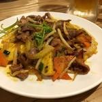 HANOI CORNER DINING BAR - パイナップル炒め砂肝