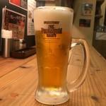 もうやんカレー - 生ビール