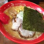 らーめんてつや - 味噌ラーメン 2016.11