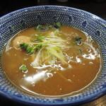 麺屋神 中川會 - 濃厚魚介つけ麺のつけ汁
