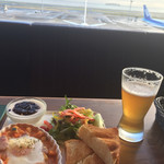 エアポートグリル&バール - ビールも美味しい