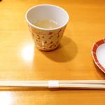 鮨 八や - 料理写真:蛤汁