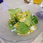 サカナザ - ランチのサラダ