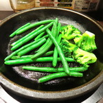 いきなりステーキ - 肉汁を吸った野菜