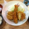 いなば和幸 - 料理写真:ミックスかつ定食です