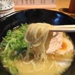 恵比寿 若どり - 博多鶏塩そば850円リフトアップ