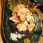 もつ鍋 亀八 - 紀州うめ鶏もも焼き