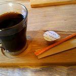 つるのIORIカフェ - 2016.11.13ホットコーヒー