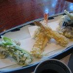 くろ麦 - 天ぷら