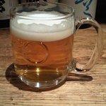 燻製と地ビール 和知 - ハートランド生.JPG